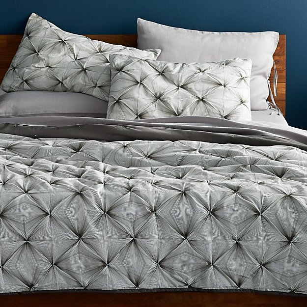 prisma black-white king quilt