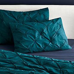 set of 2 standard prisma blue-green shams