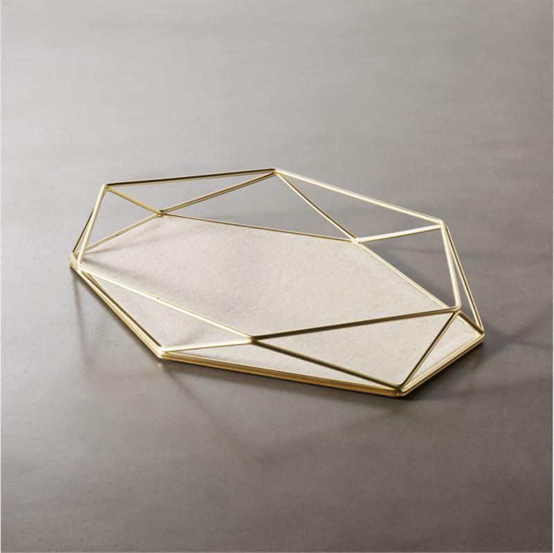 prisma-geometric-storage-catchall by crate&barrel