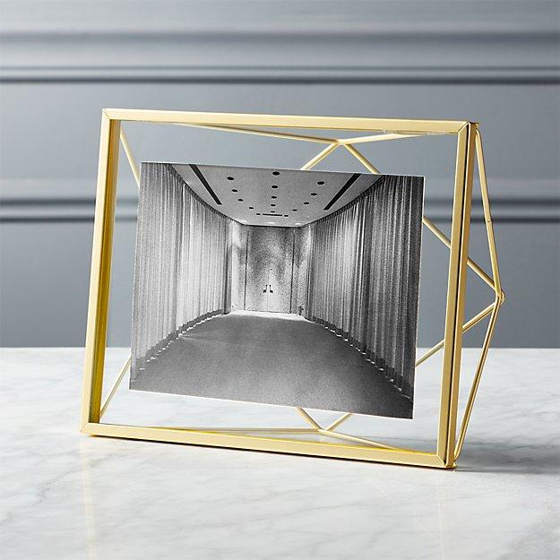 "Prisma 5""x7"" Gold Picture Frame"