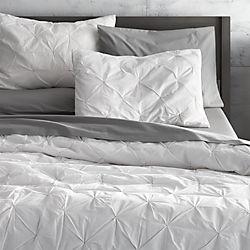 prisma white bed linens