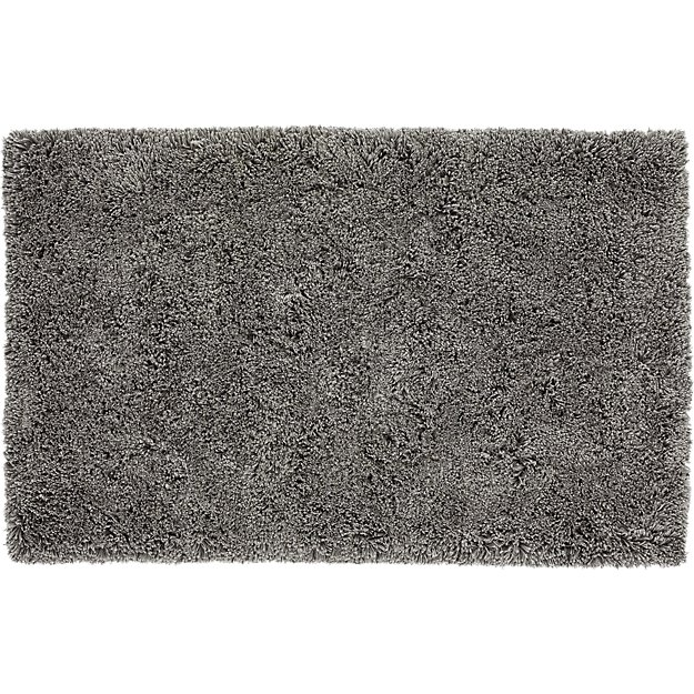 Puli Grey Shag Rug 8 X10 Reviews Cb2