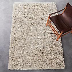 puli natural shag rug