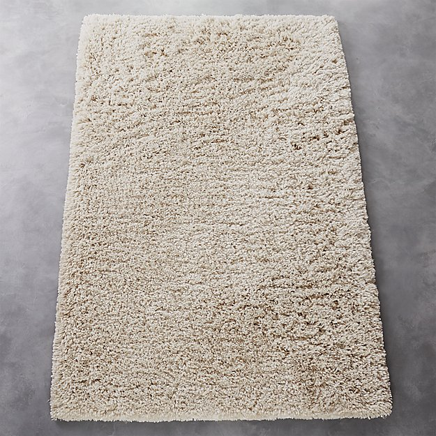 puli natural shag rug