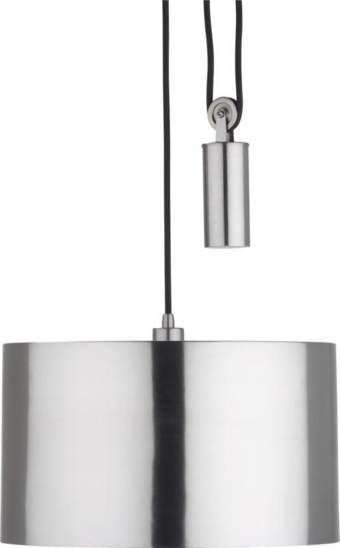 pulley pendant lamp