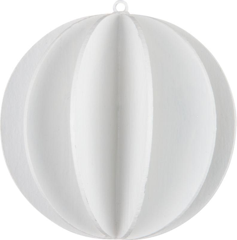 pulp ball ornament