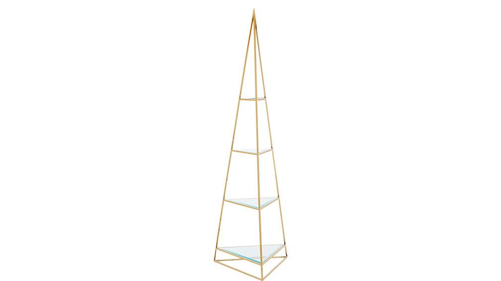 Couleur Pour Une Cuisine Moderne : pyramid etagere  CB2