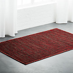 Quitting Time Red Rug