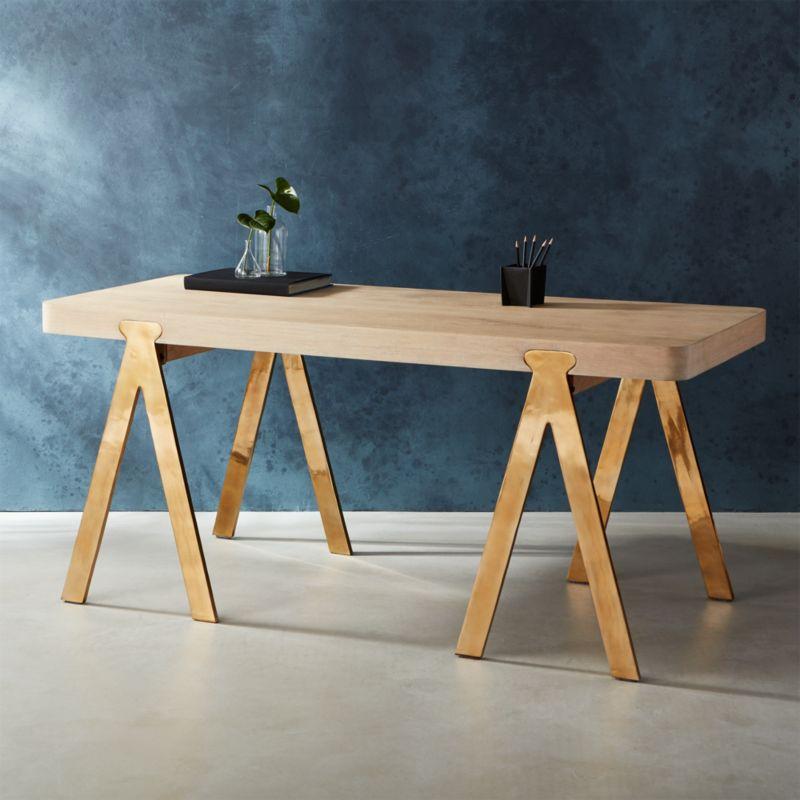 smartness minimalist chairs. raba desk handcrafted furniture  CB2