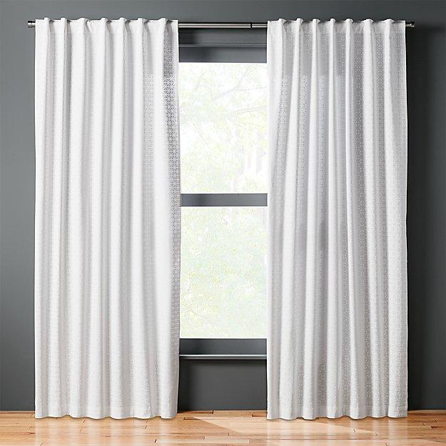 radiant curtain panel