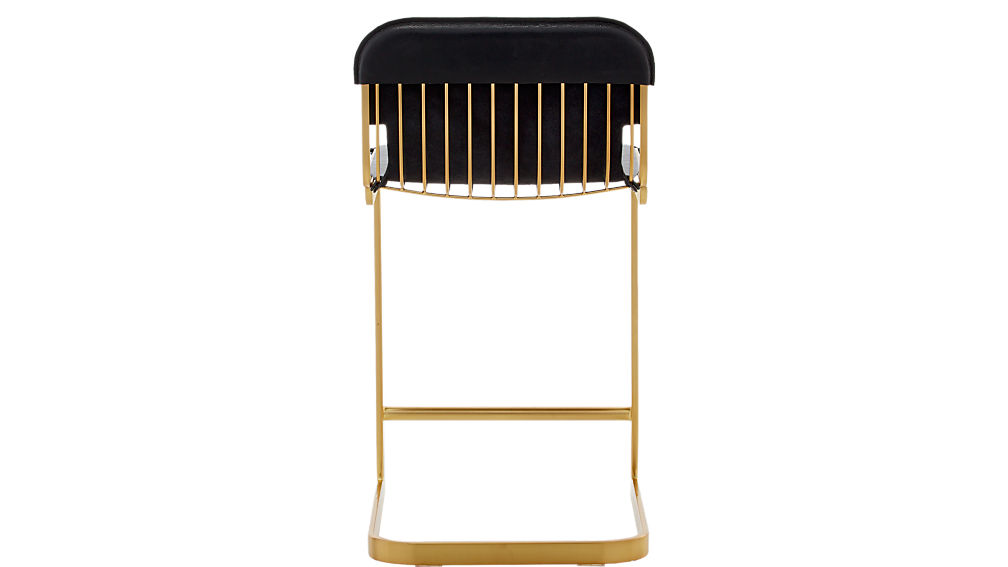 "rake brass 24"" counter stool"