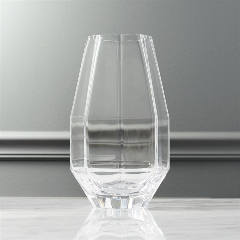 Raleigh Tapered Glass Vase Cb2