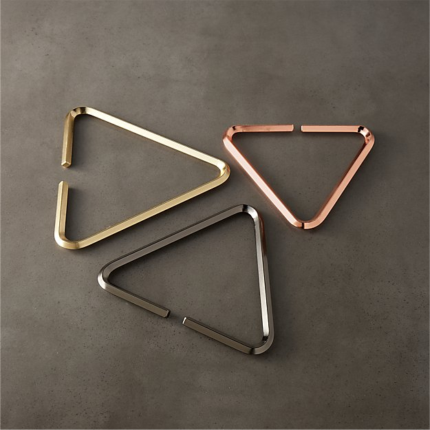 3-piece range metal trivet set