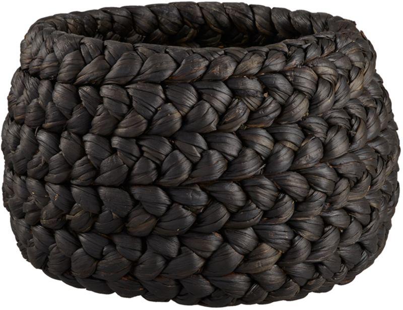rapunzel large black basket