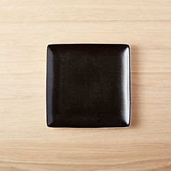 Ray Black Appetizer Plate