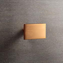rectangle copper knob