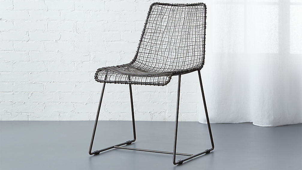 Reed Black Wire Chair Reviews Cb2