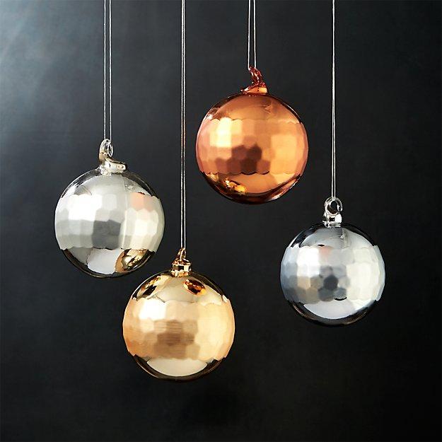 reflect ornaments set of 4