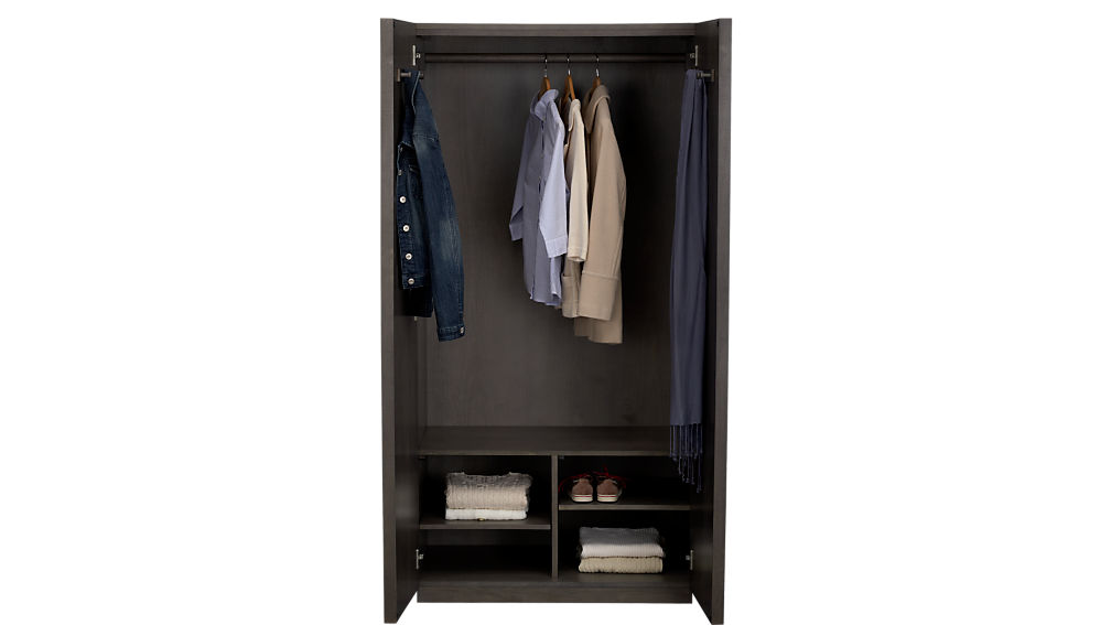 Reflection Mirror Wardrobe In Storage Cabinets Reviews Cb2