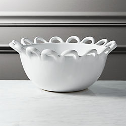 reign white clay bowl