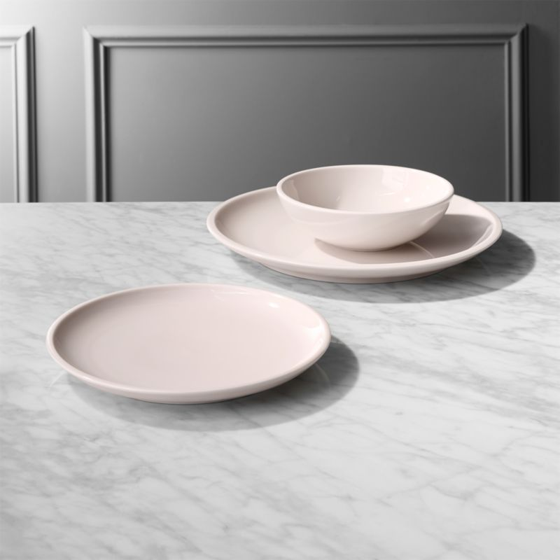 Reveal Pink Dinnerware & Modern Dinnerware and Unique Dinnerware Sets | CB2