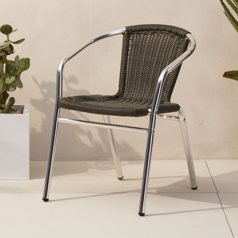 Rex Grey Chair + Reviews | CB2