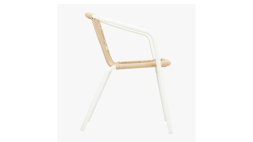 rex open weave chair