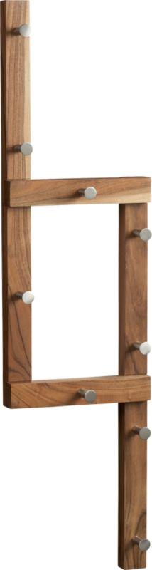 right angle coat rack