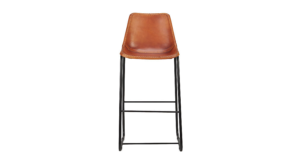 "roadhouse leather 30"" bar stool"