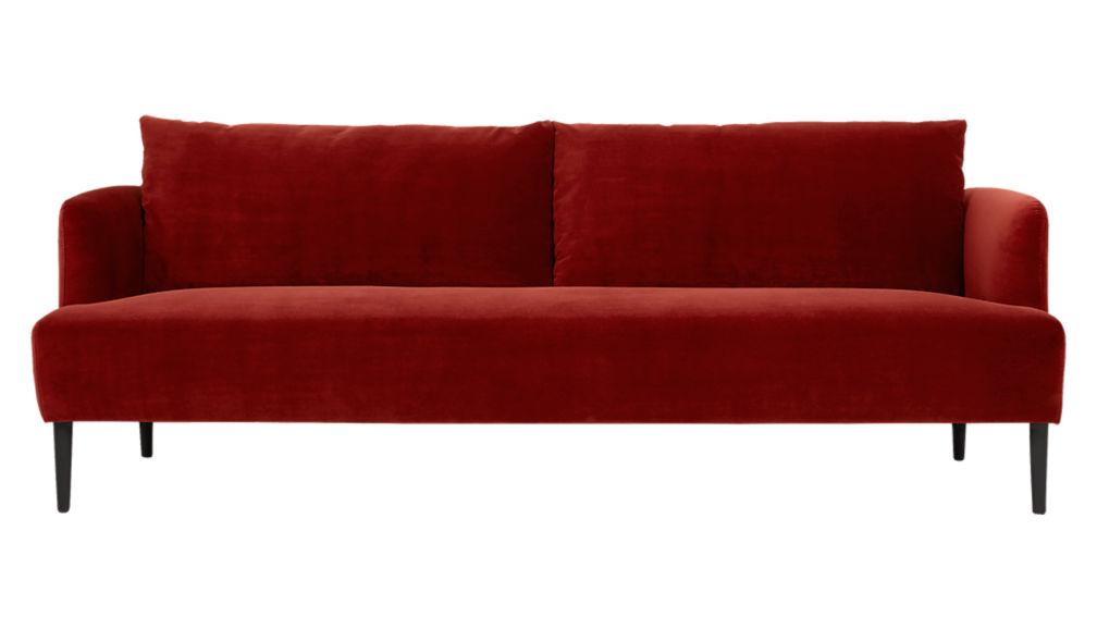ronan wine sofa