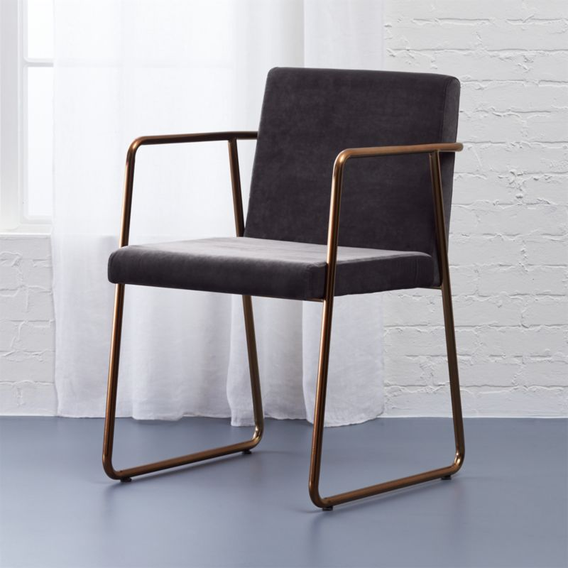 Rouka Chair Rouka Grey Cb2