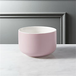 roundish mauve mini bowl
