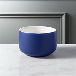 roundish royal blue mini bowl