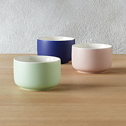 roundish mini bowls