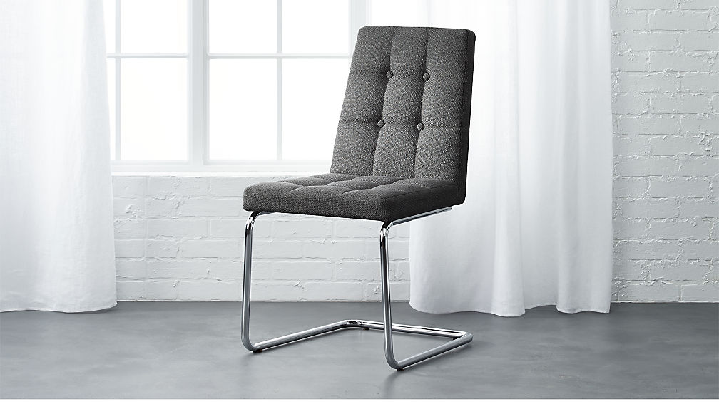 Roya Grey Chair Reviews Cb2