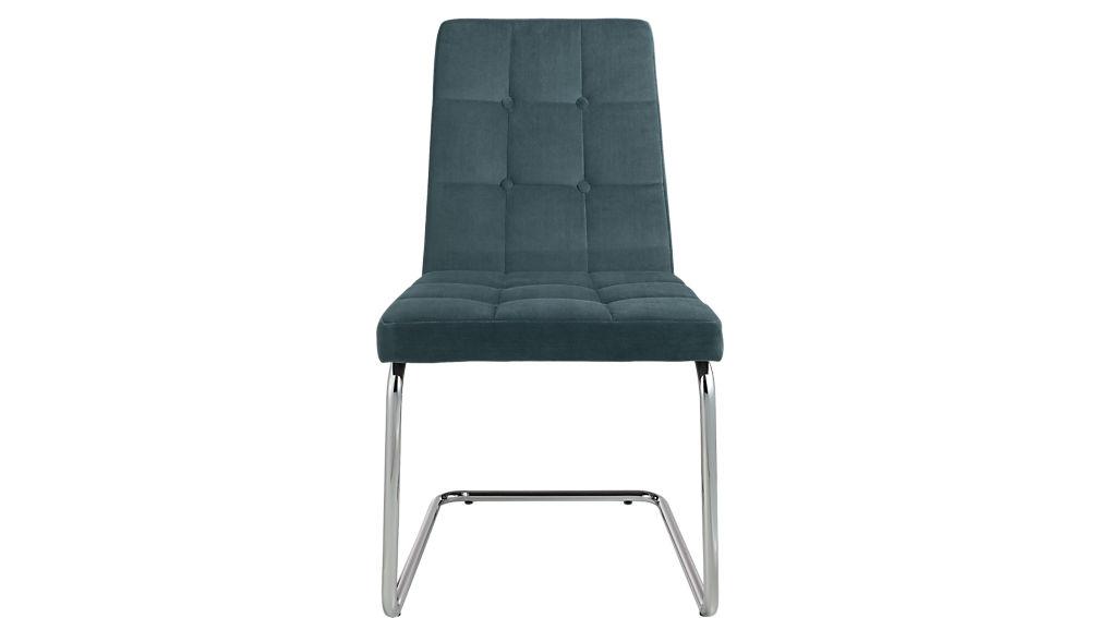 roya slate blue chair