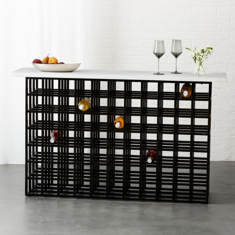 wine storage CB2