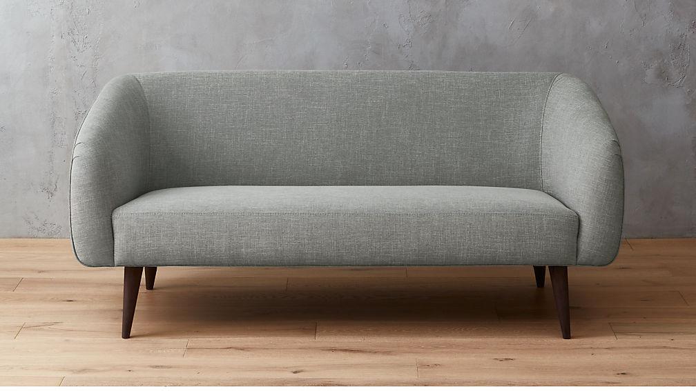 rue II grey apartment sofa + Reviews | CB2