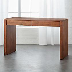Runway Acacia Wood Desk