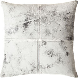 """18"""" ryker leather pillow"""