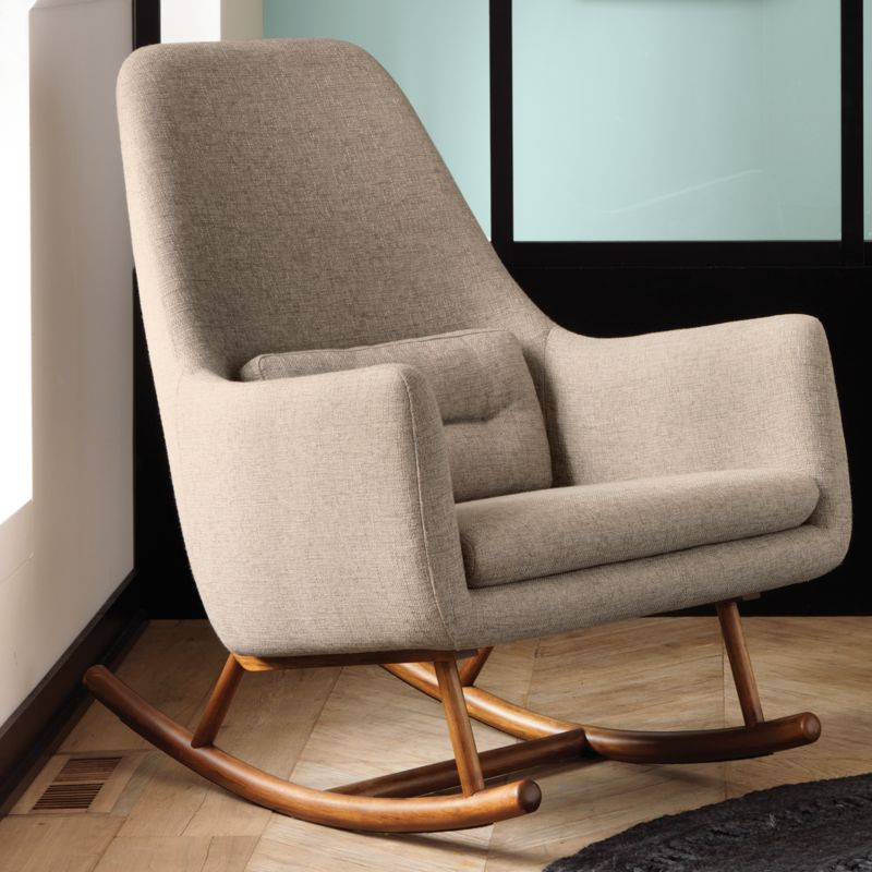 SAIC quantam rocking chair Notion: Gunsmoke | CB2