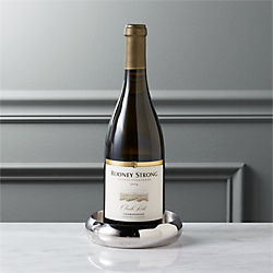 stainless steel shiny wine coaster