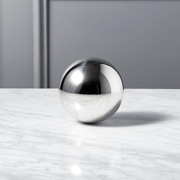 """Stainless Steel Sphere 4"""""""
