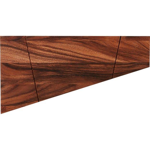 SAIC acacia magnetic knife board