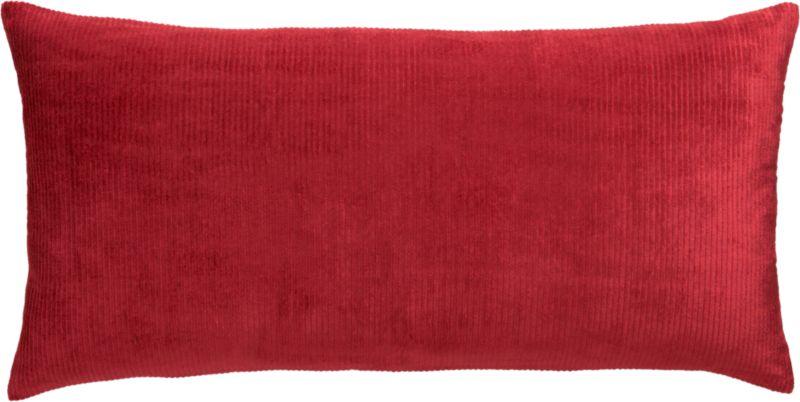 """sari lobster 23""""x11"""" pillow"""