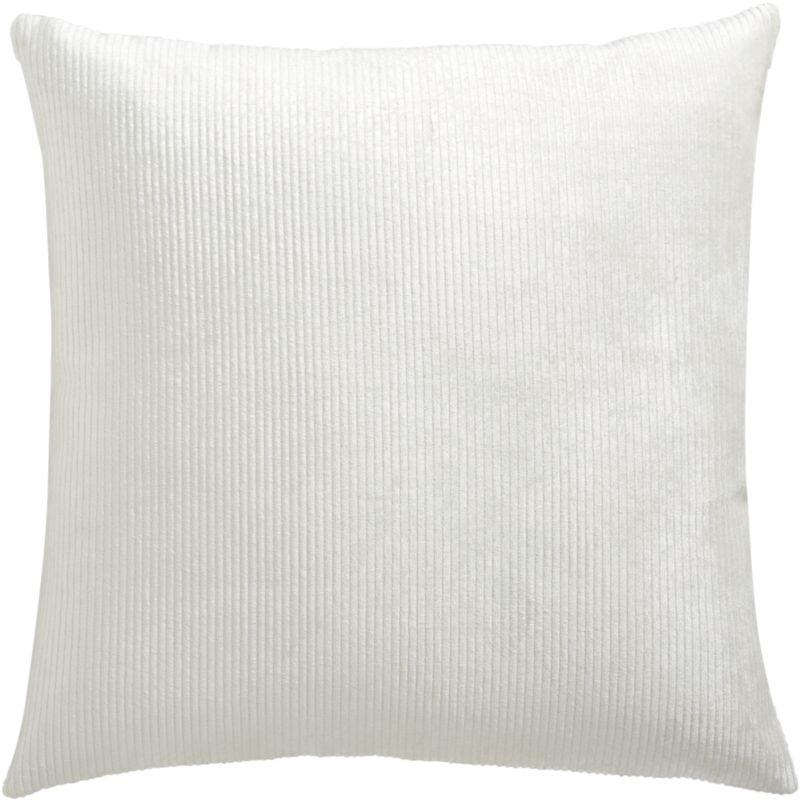 """sari white 16"""" pillow"""