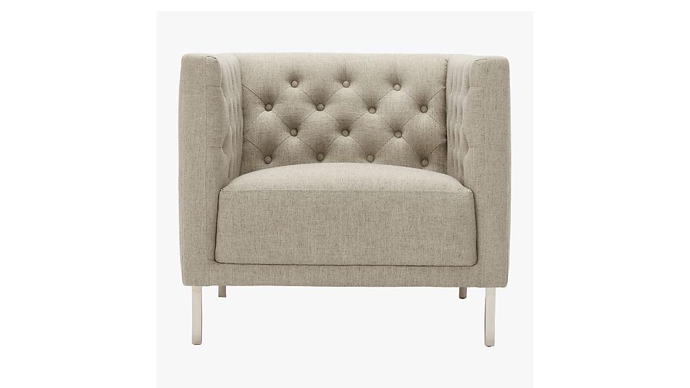 savile grey chair