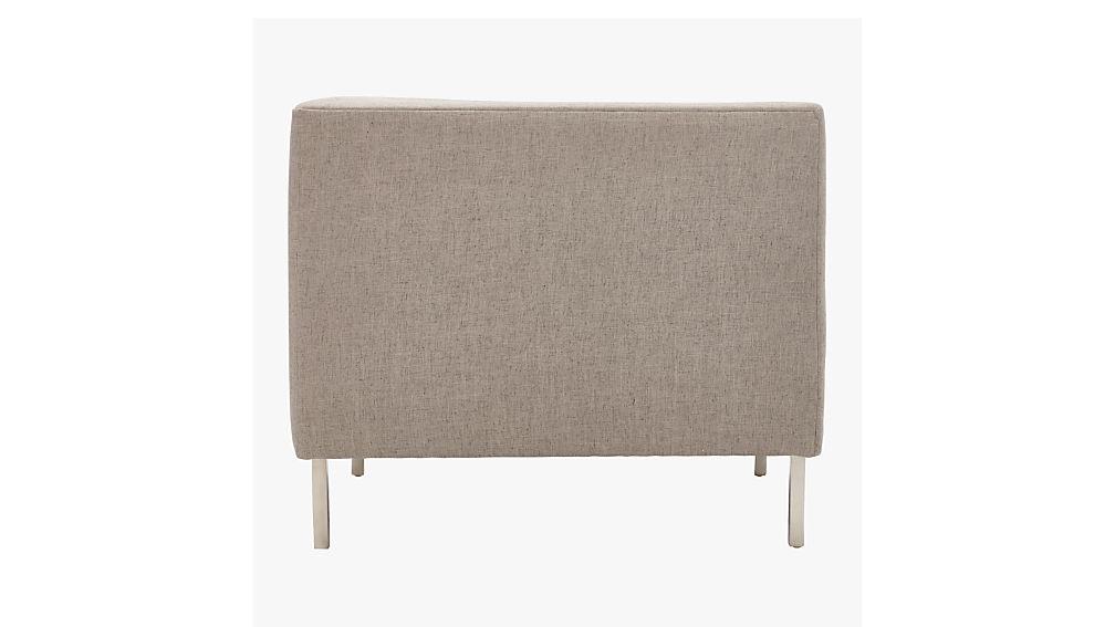 Savile Grey Tufted Chair