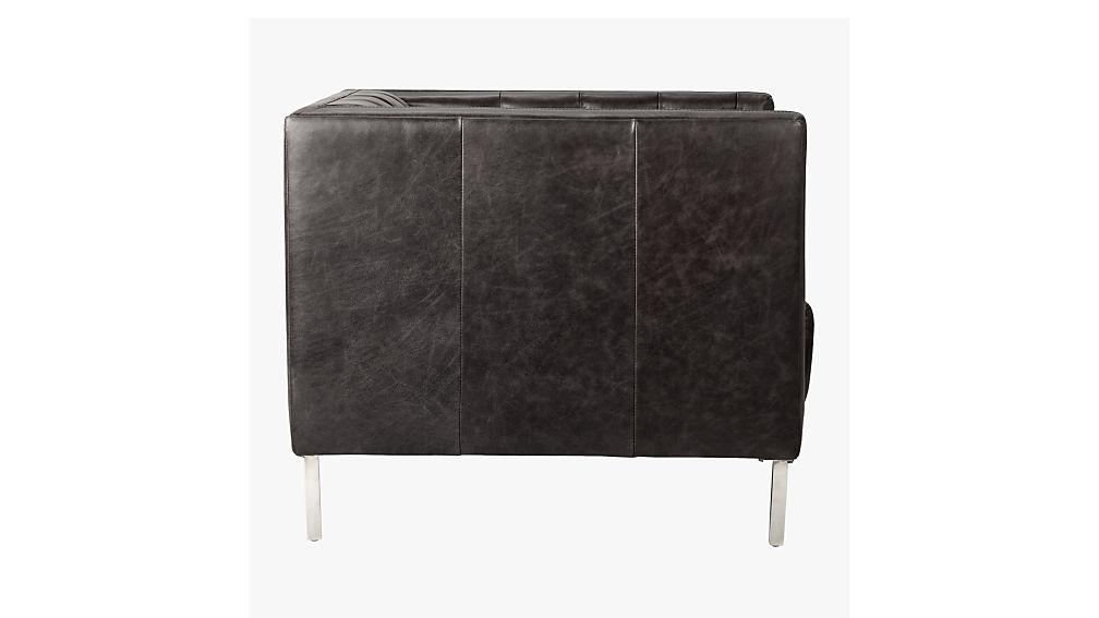 savile leather chair