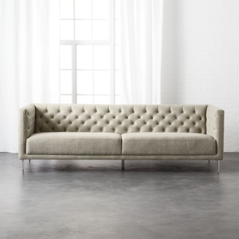 Tufted Sofa Bed Ideas About On Couch Home